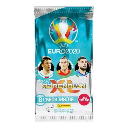 40 Cards Panini Adrenalyn XL Euro 2020-5 x Sealed PACKS