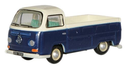 t48 Post Spielzeugautos Oxford 76VW006 VW T2 Pick-Up Grün/Weiß 1/76 Neu Verpackt