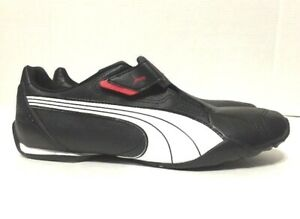 Details about Puma Redon Move Athletic Shoes Black Leather Mens 185999 02 Choose Size