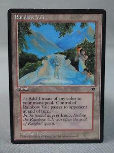 Rainbow Vale Fallen Empires MP MTG Magic the Gathering Card X1