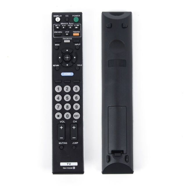 PDM KDL 40-46 Series TV RM-JB002 Remote Control for Sony Bravia KDE LDM KE