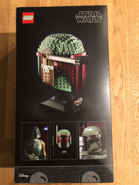 Lego Star Wars, BOBA FETT HELMET COLLECTION, Star Wars BOBA…