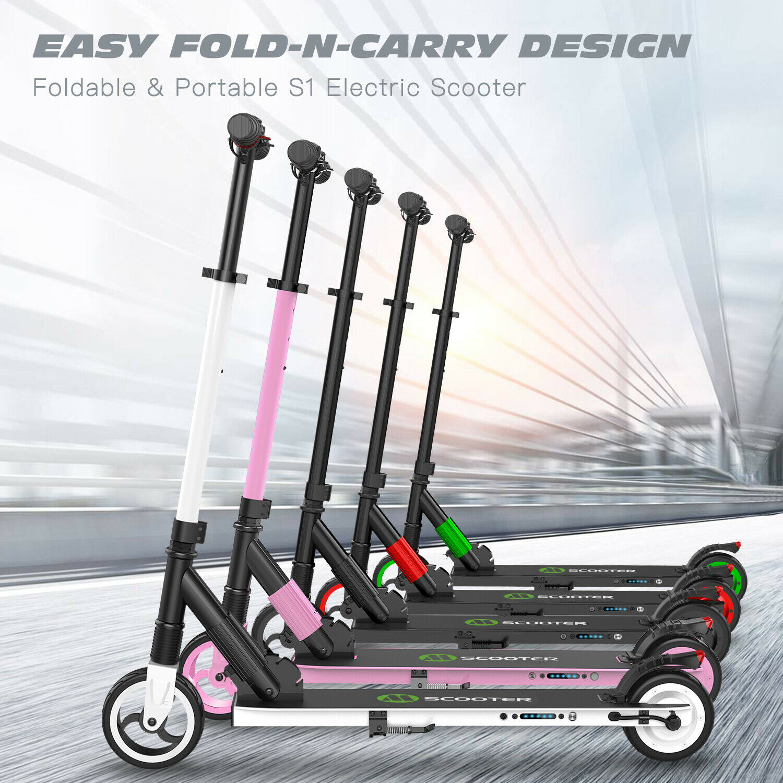 Elektro Scooter Tragbar Escooter Roller ElektrGoldller Faltbar Neu E-Scooter