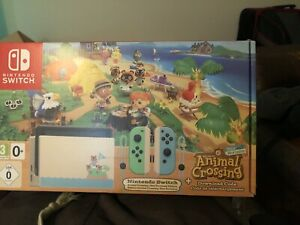 nintendo animal crossing switch console uk