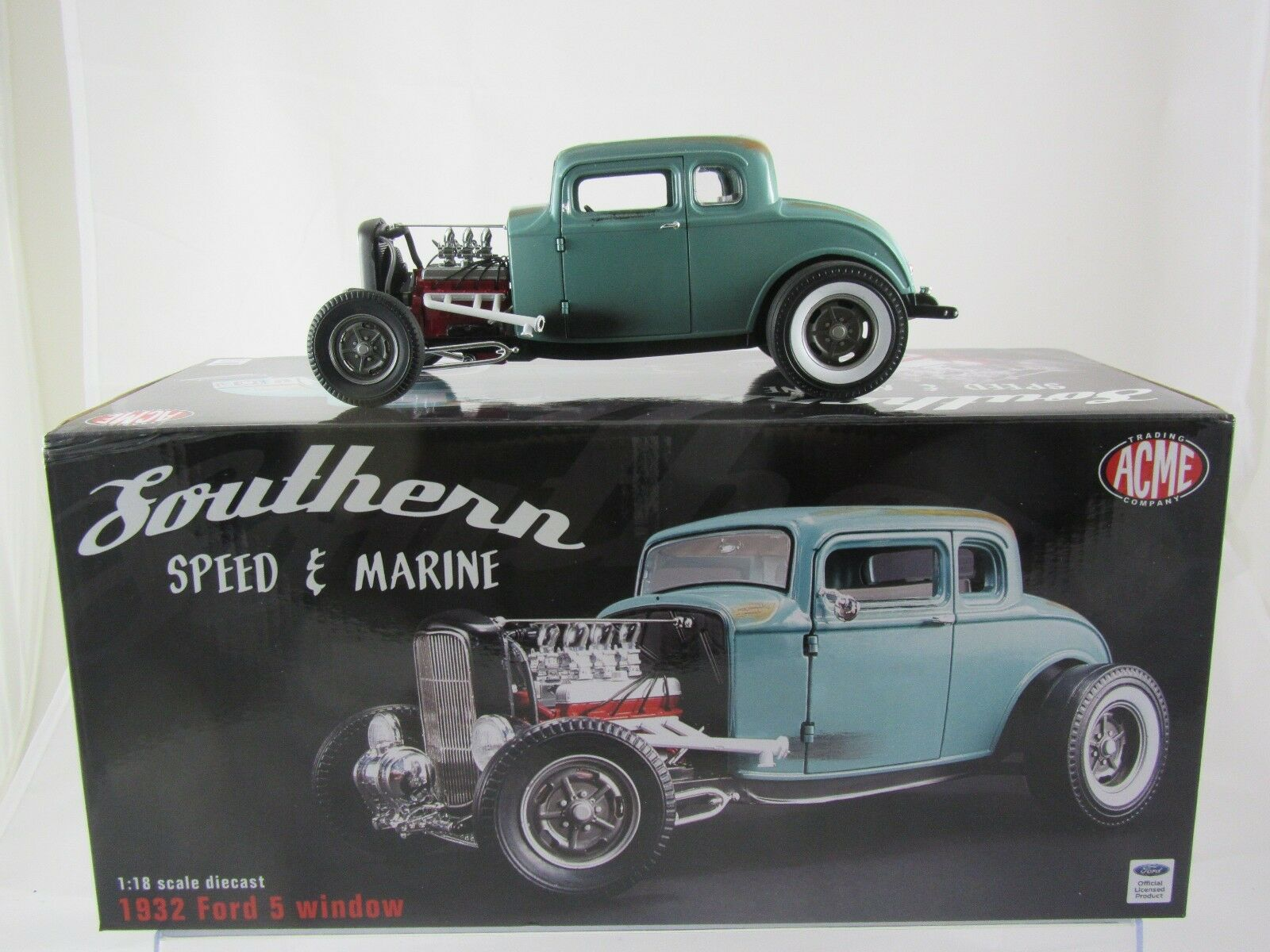 Acme 1932 Ford 5 Window - Southern Speed & Marine Rat Rod A1805012