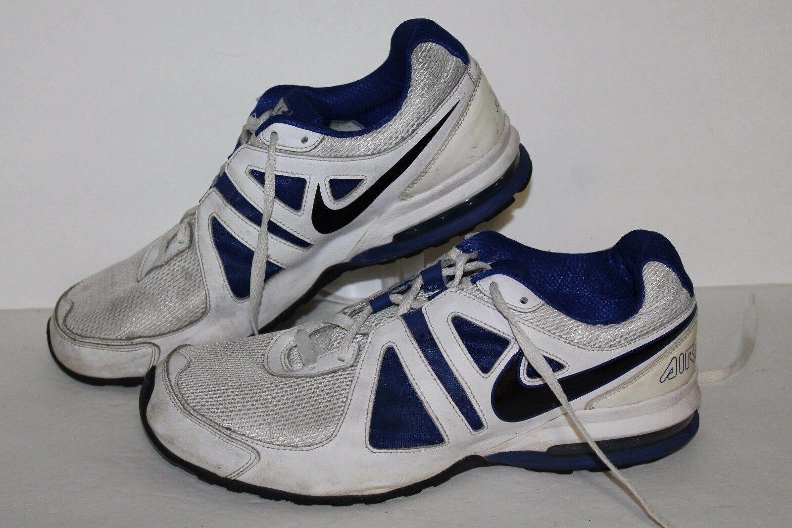 Nike Air Max Limitless Running Shoes, Wht/Royal/Blk, Men's US 11.5  Wild casual shoes