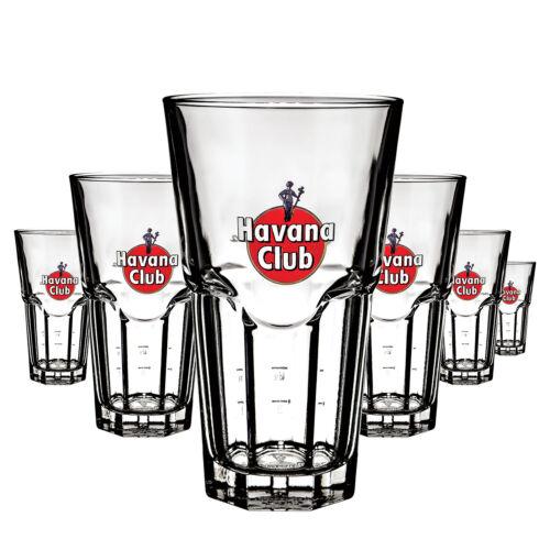 6 x Bacardi Rum Kartenhalter Glas Gläser Tischaufsteller Menükartenhalter  NEU