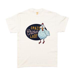 2c9a6e0d5 Crazy Chicken Lady - T-Shirt (SB) - Chicken Joke Lady Funny Animal ...
