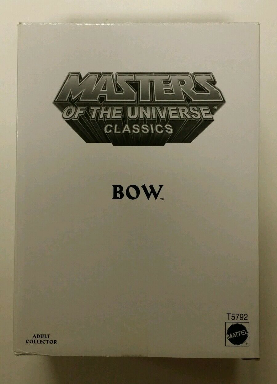 Motu classics Bow Masters of the Universe action figure Mattel