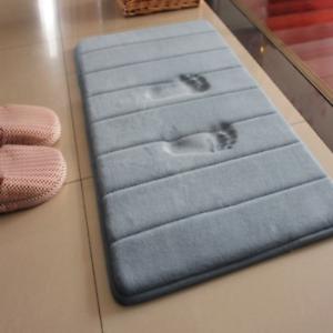 Bath Mat Non-slip Bathroom Carpet Foam Rug Mat kitchen Toilet Floor Decor