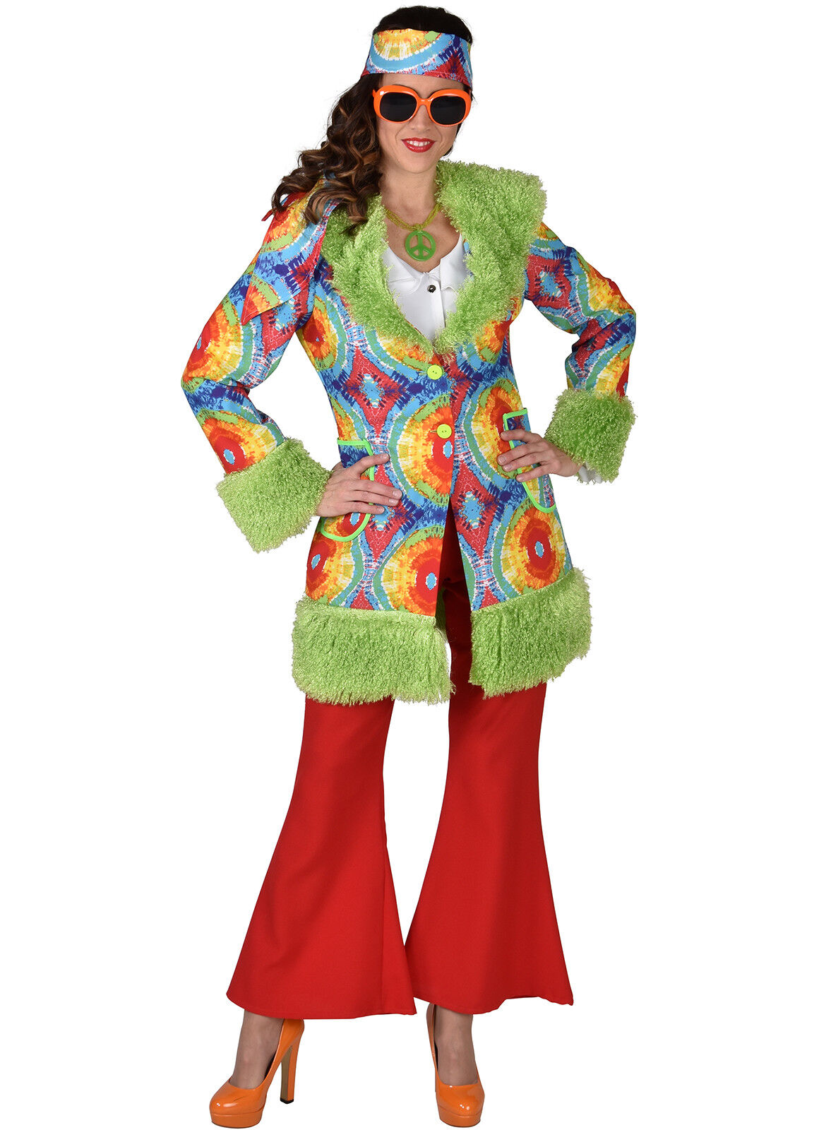 Deluxe Hippy Chick 60's / 70's - Sizes 6 to 24