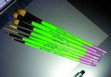 Mack Jerald Tidwell Monster Stix Signature Series Pinstriping Brushes Set of 7