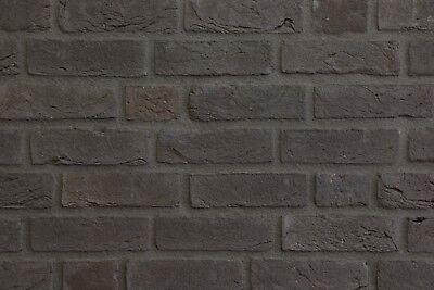 Fassade Motiviert Handform-verblender Nf Bh1027 Graphit-schwarz Klinker Vormauersteine
