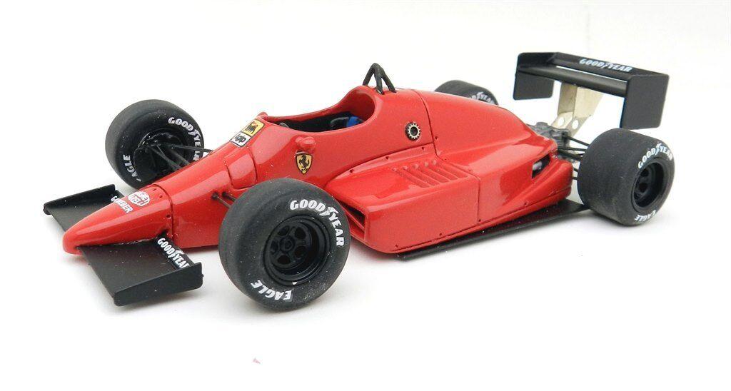 kit Ferrari 637 Alboreto test Indy 1987 - Tron Models kit 1 43