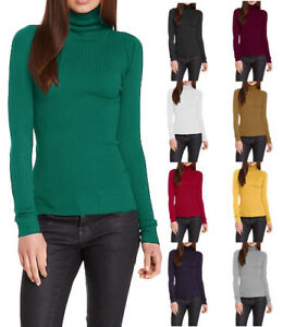 Wow-Couture-Turtleneck-Long-Sleeve-Ribbed-Sweater-S-L