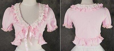 M-03 One Size rosa pink Bolero Gothic Classic Lolita Cosplay Kostüm costume