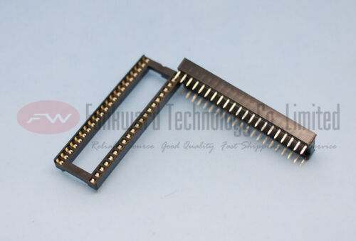 Original New DIP42 DIL42 PIN IC SOCKET x 10pcs