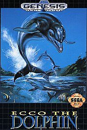 Ecco the Dolphin (Sega Genesis, 1992) for sale online | eBay