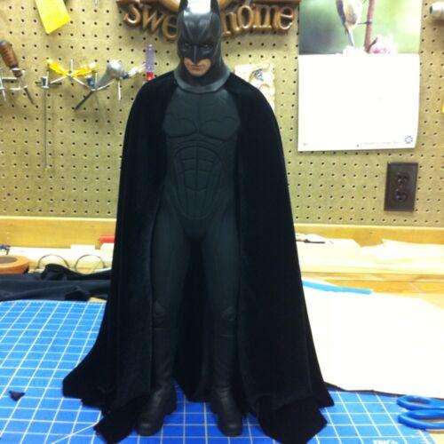 SALE SALE CUSTOM 1//4 Scale Batman Hot Toys Dark Knight CAPE Only