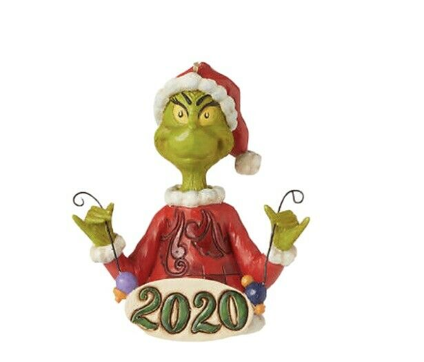 Jim Shore Cindy Lou Who Holding Ball Christmas Hanging Ornament 6004068 Grinch