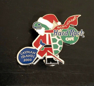 CAYMAN ISLANDS Hard Rock Cafe Pin - 2000 Sir Turtle Pirate Santa - LE 1000!  | eBay