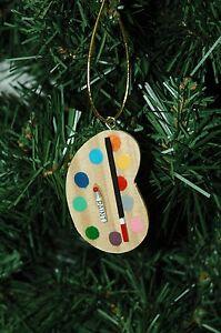 Art-Artist-Palette-Christmas-Ornament