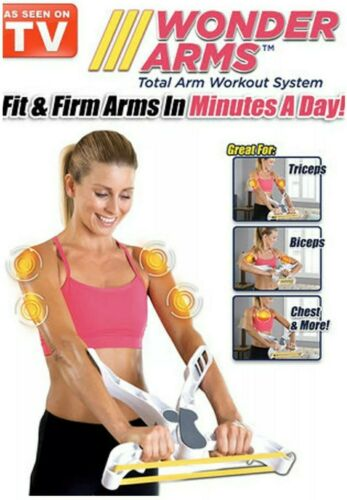 WONDER ARMS-AS SEEN ON TV FIT /& FIRM ARMS ORIGINAL TOTAL ARM WORK OUT WONDERARMS