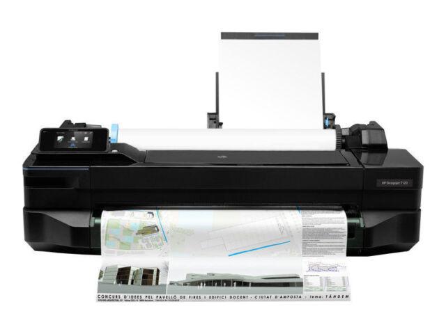HP T120 DesignJet Printer