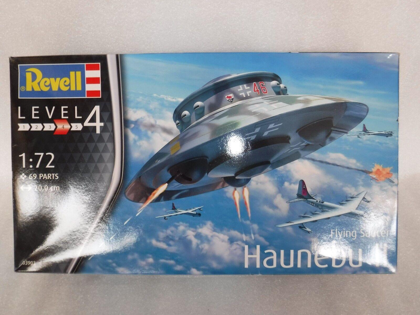 Revell 1 72 03903 Flying Saucer Haunebu II Model Aircraft Kit