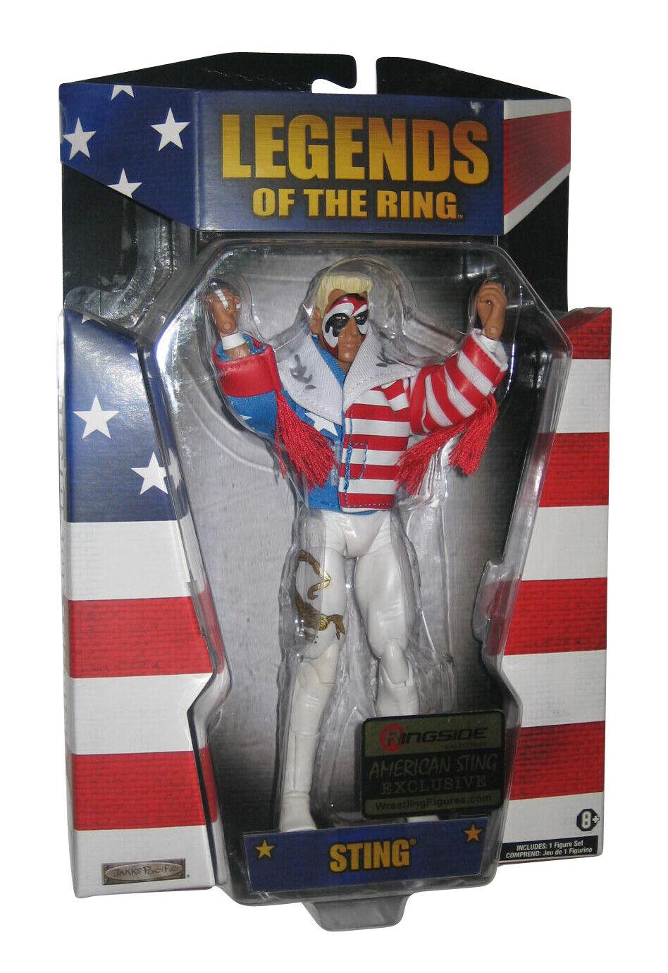 Wwe Wrestling Legends de Bague Queue Américain Ringside Figurine Exclusive