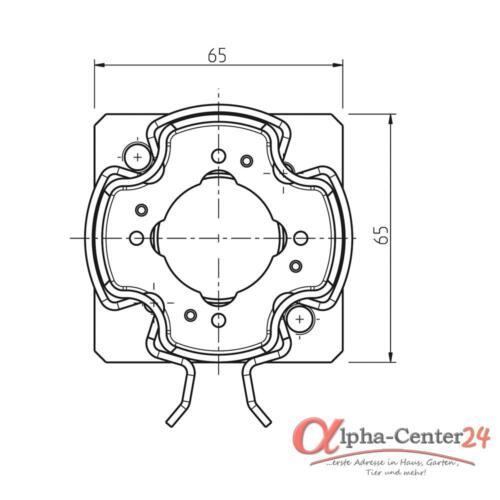 Rademacher Motorlager Medium Click-Antriebslager RolloSun Markisenantriebe Motor