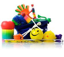 Fiddle Kit 15 items Koosh Balls Tangle Bendy men Stress ball ADHD fidget toys