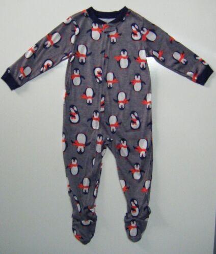 Details about  /Carter/'s Just One You 2-Piece Polar Bear//Penquin Boys Sleeper Pajama Set