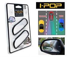 I-POP IPOP Adjustable Car Blind Spot Side Rear View Wide Flat Rectangular Mirror
