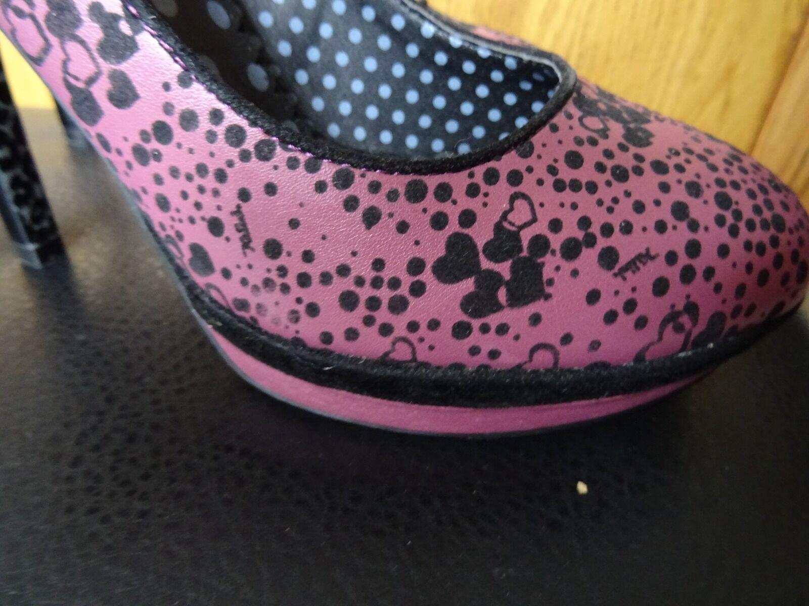 Killah Pink Pink Killah Heart Heels Size 6 81d63f