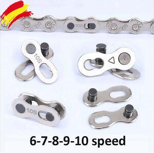 Eslabon-Rapido-Cadena-Bicicleta-Conector-Velocidades-Ciclismo-Bike-6-7-8-9-10