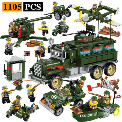 Enlighten Military Educational Building Blocks Toys For Children Gifts Army