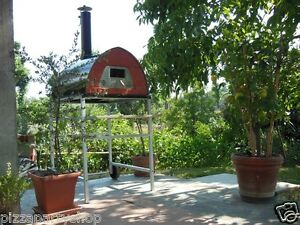 Outdoor Wood Fired Pizza Oven Pizzone Door With Glass