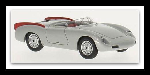 servicio de primera clase Maravilloso MODELCoche Porsche 356 Zagato Spyder 1958-Silve escala escala escala 1 43 - Ed. Lim.  80% de descuento