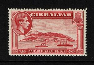 Gibraltar-SG-123-Mint-Hinged-small-Hinge-Remnant-Lot-052117