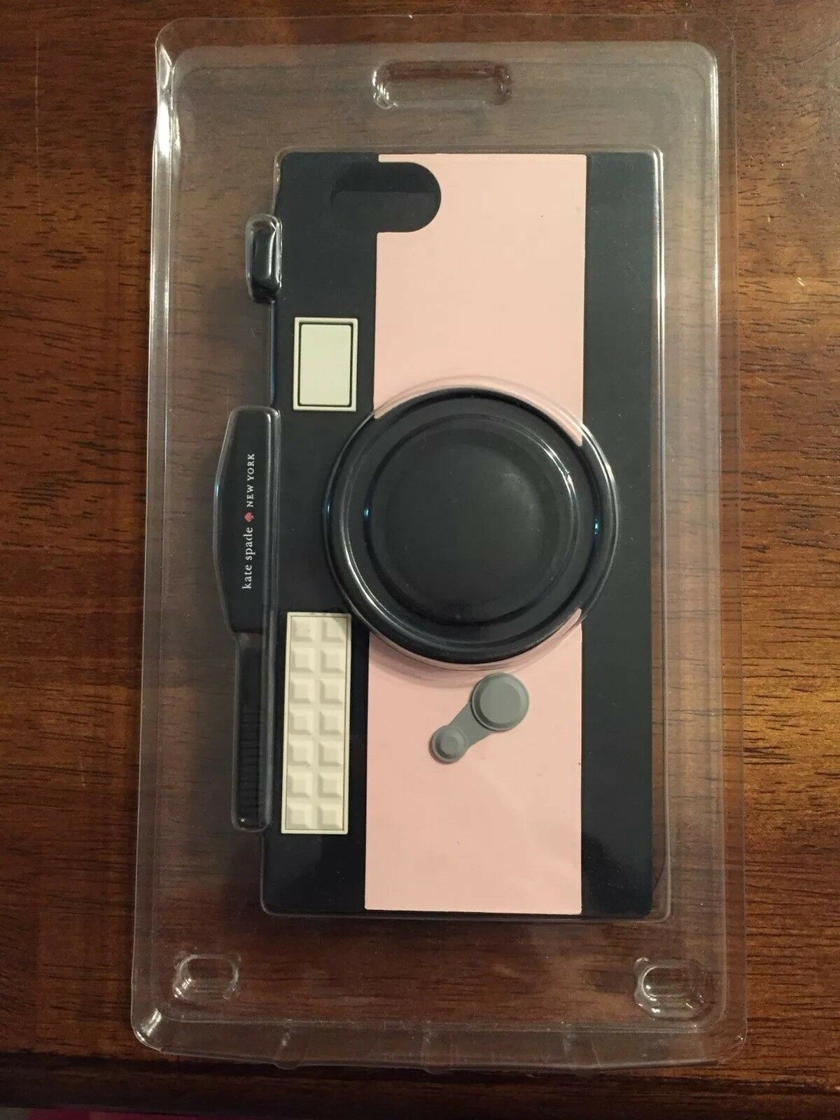 pretty nice 4b196 d89ac NWT Kate Spade Iphone 6 / 6s Pink Camera Silicone Rubber Case
