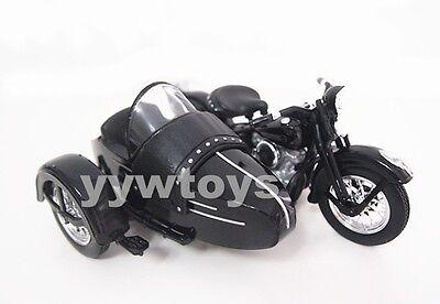 Free Shipping Maisto 1:18 Harley Davidson 1948 FL Panhead W Sidecar Motorcycle
