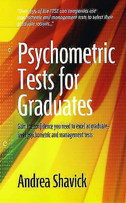 1 of 1 - Psychometric Tests For Graduates: Gain the Confidence You Need to Excel at Gradu