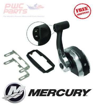 Mercury New OE Binnacle//Concealed Top Console Mount Remote Control Kit 8M0059686