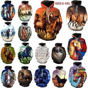 Animal-horse-3D-Print-women-mens-Pullover-Casual-Hoodies-tops-Sweatshirts-S-5XL