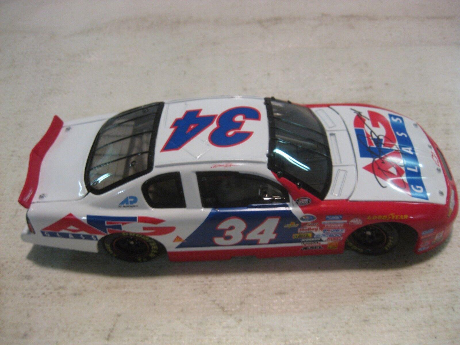 Nascar David Green AFG Glass Chevy Monte Carlo 124 Scale Diecast 2000 dc671