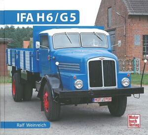 Typenchronik Ifa H6 G5 Modelle/technik/geschichte/typen-buch/handbuch