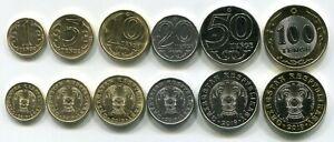 Kazakhstan-full-set-6-coins-2019-New-type