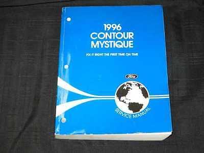 1996 Ford Contour & Mystique Shop Manual | eBay