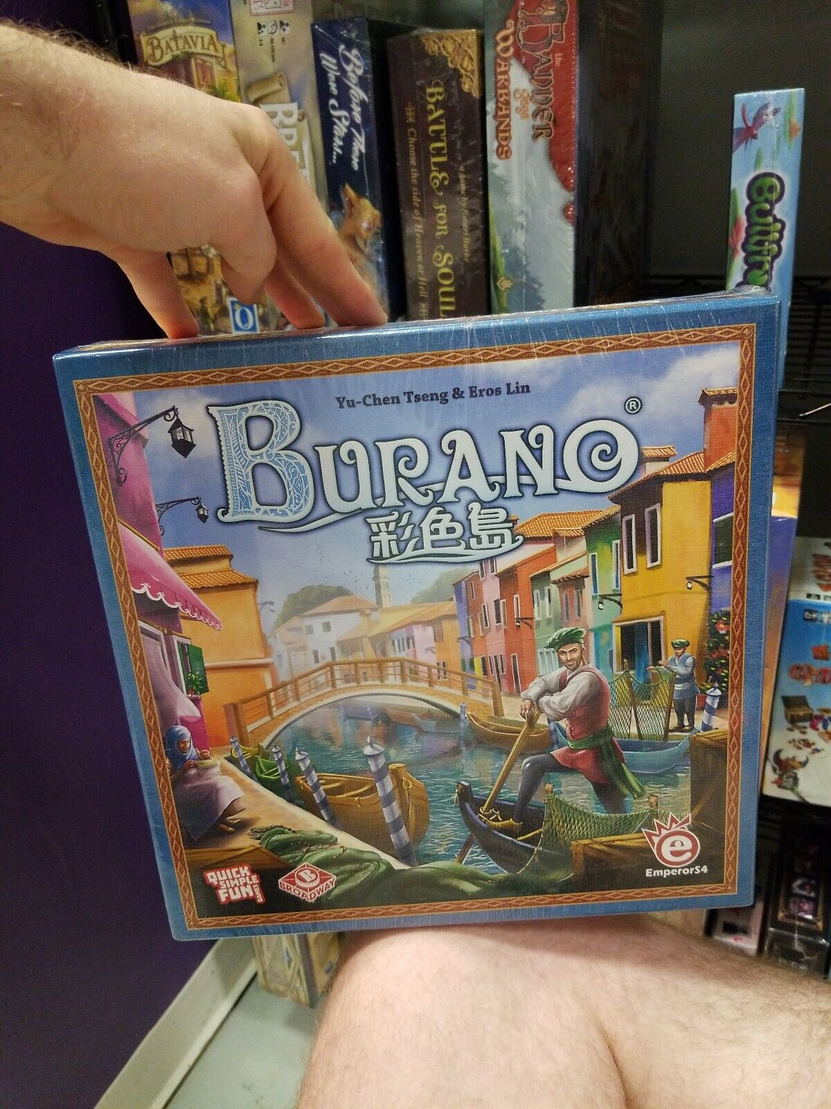 Burano - QSF Games Board Game New